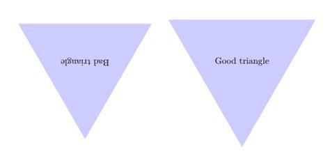 what shape is upstide down triangel tikz pgf upside down triangle as node shape tex