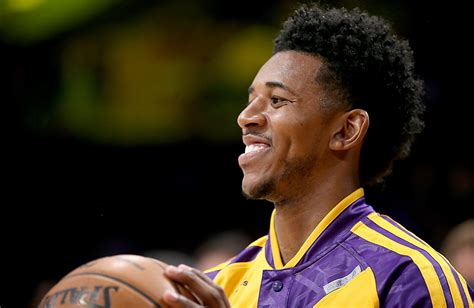 nick young aka swaggy p haircut mens hairstyle trends lakers rotation will need to adjust to loss of nick young