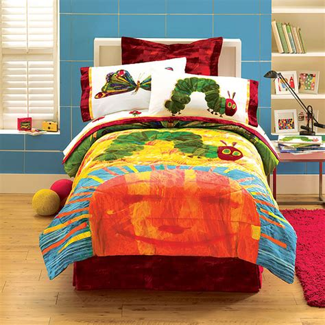 Hungry Caterpillar By Eric Carle Full Sheet Set Eric Carle Crib Bedding