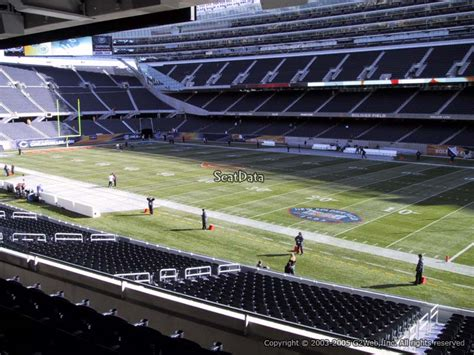 Soldier Field Media Deck by Soldier Field Section 231 Chicago Bears Rateyourseats