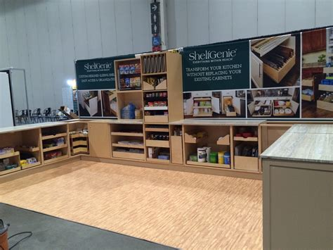 trade kitchen cabinets trade show displays and booths speedpro imaging oshawa