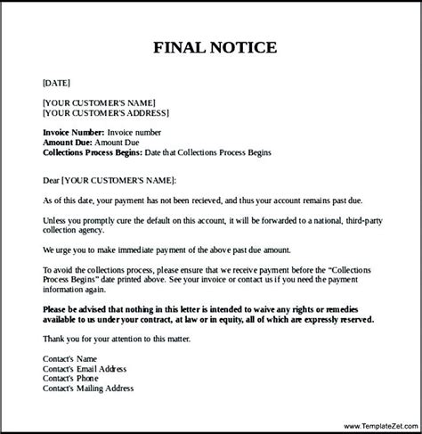 Invoice Correction Letter past due invoice collection letter invoice letter invoice