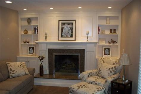 fireplace surround with shelving and cabinets by garyl