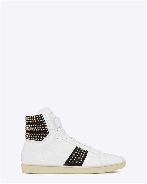 ysl sneaker laurent signature court classic sl 14h high top