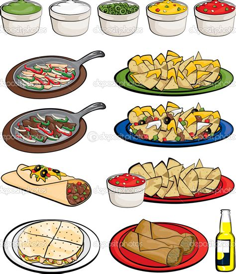 food drawings free food mexican clipart clipart suggest