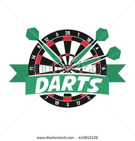Dart Club Card Type D 10 dart logo stock images royalty free images vectors