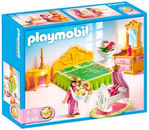 playmobil princesse pour les petites avec le guide