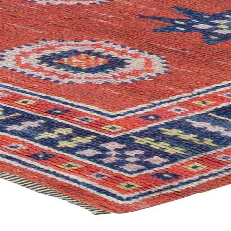 pile rugs vintage swedish pile rug by m 228 rta m 229 229 s fjetterstr 246 m r 246 d flossa bb6116 by doris leslie blau
