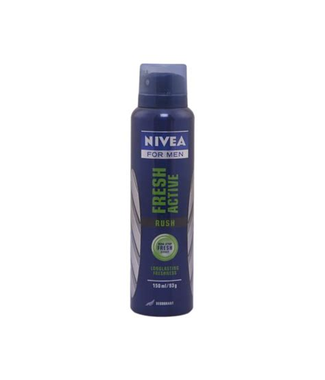Nivea Fresh Active Spray Deodorant 150ml nivea fresh active deodorant spray for 150 ml