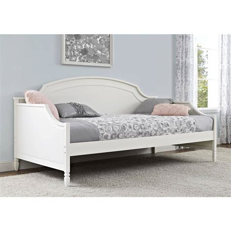 day bed twin better homes and gardens lillian twin day bed white by
