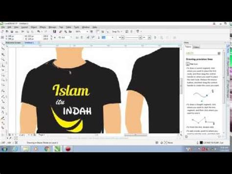 desain jersey dengan coreldraw video news coreldraw tutorials business card design