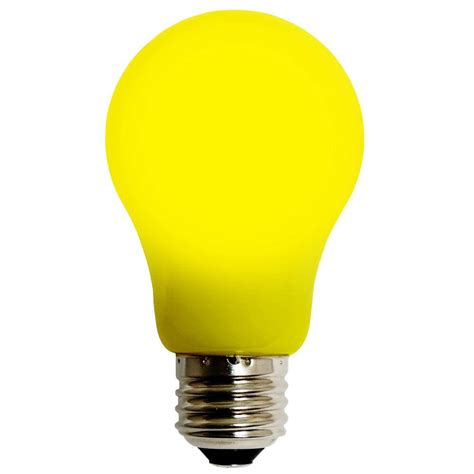 meilo 4w equivalent yellow a15 evo360 led light bulb 55d