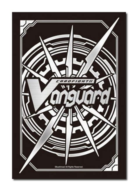 cardfight vanguard card template front and back bushiroad cardfight vanguard sleeve collection 60ct vol