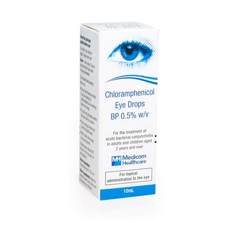 eye infection drops medicom healthcare products infection chlorhenicol eye drops