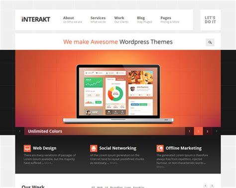 theme wordpress web design interact web design agency wordpress theme themeshaker com