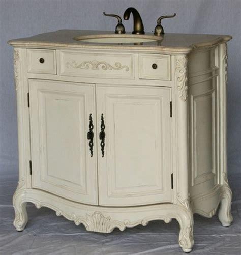 36 antique white bathroom vanity 36 inch bathroom vanity traditional classic style antique white 36 quot wx21 quot dx36 quot h s2233261be