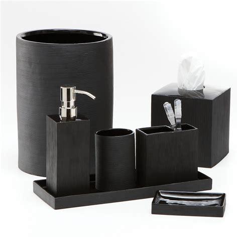 Black Bathroom Decor » Home Design 2017