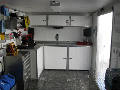 aluminum cabinets enclosed trailer enclosed trailer ideas related pictures enclosed