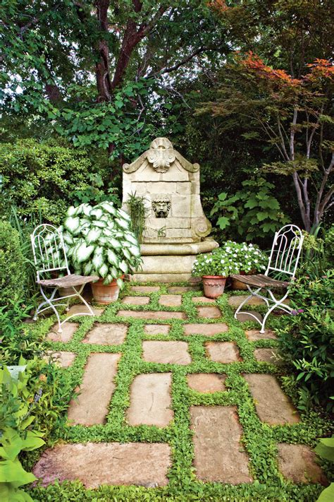 The South S Best Gardens Southern Living Secluded Backyard Ideas