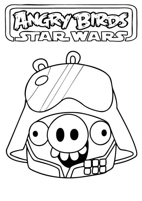 free coloring pages star wars angry birds angry birds star wars coloring pages free printable