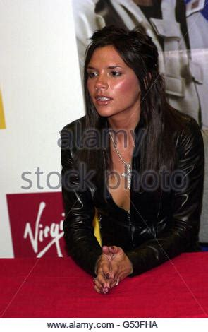 Posh Is A Signing Sensation 2 by Posh Spice Stock Photos Posh Spice Stock Images Alamy