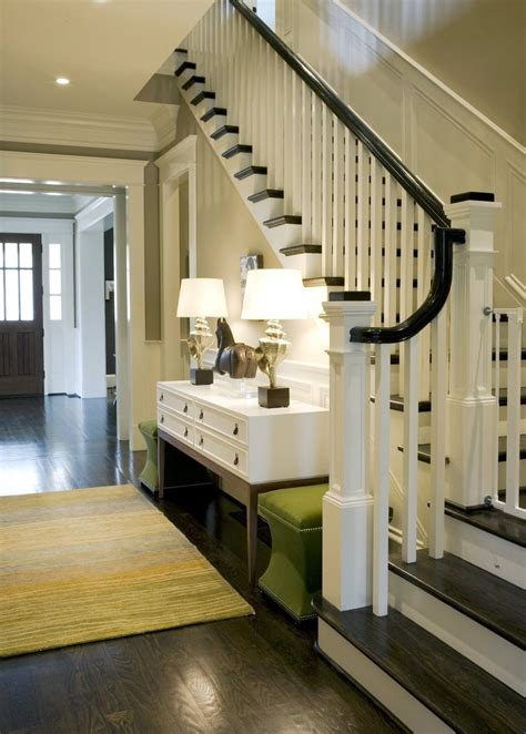foyer stairs foyer stairs decorating ideas pictures entry traditional