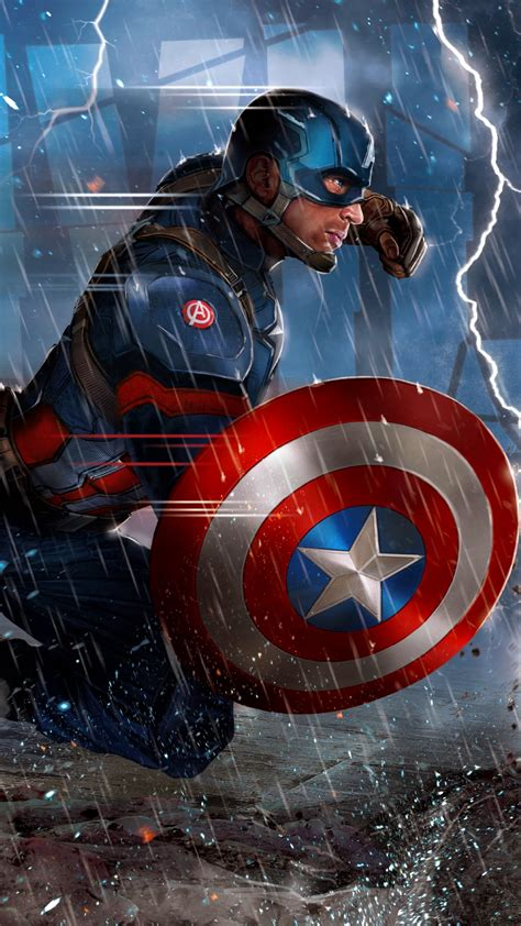 captain america iphone wallpapers pixelstalknet