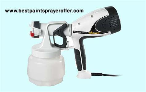 wagner  paint ready sprayer    spray