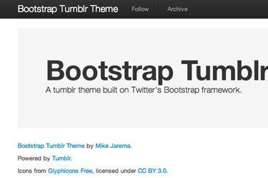 bootstrap themes tumblr github mikejarema bootstrap tumblr theme basic tumblr
