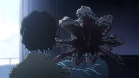 anime parasyte parasyte the maxim review anime evo
