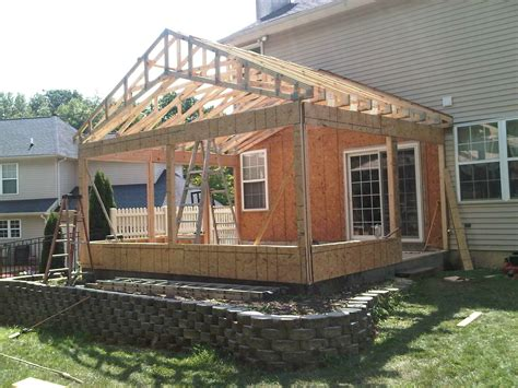 Sunroom Construction Plans custom sunroom construction s s remodeling contractors
