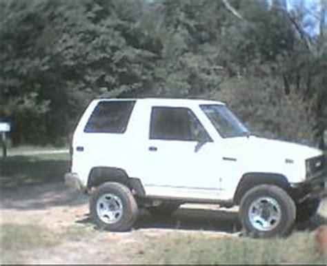 1990 daihatsu rocky lift kit