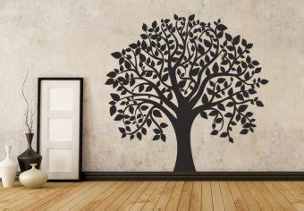 Tree Stencil For Wall Mural flowers and trees wall decals home decor shop tree