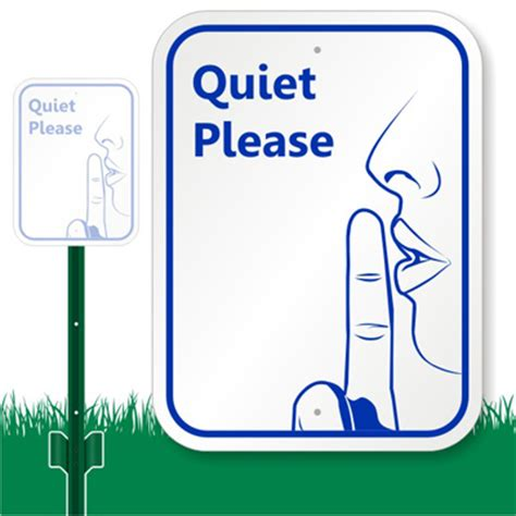 printable quiet signs quiet please lawnboss sign do not disturb signs sku k 7361