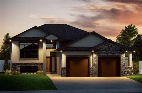 bi level pin bi level house plans with garage 2 e designs on pinterest