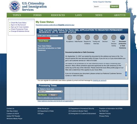 Search Uscis Status Strange Problem Uscis Status Says Quot Document Production Quot But No Document Sinc