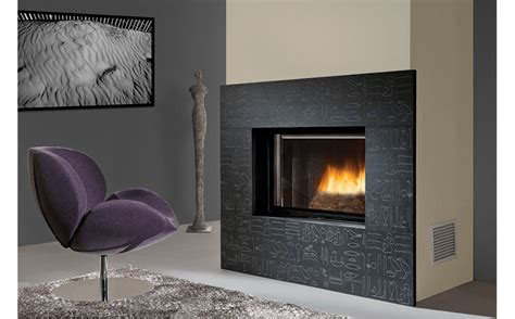 open door deluxe wood burning fireplaces chazelles