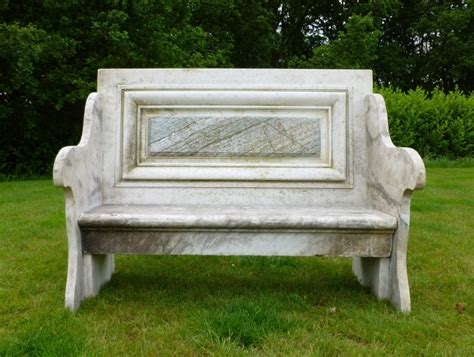 marble garden bench antique marble garden seat reclaimed benches