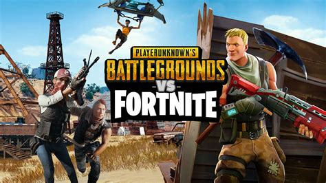fortnite vs pubg fortnite and pubg are wildly different here s why