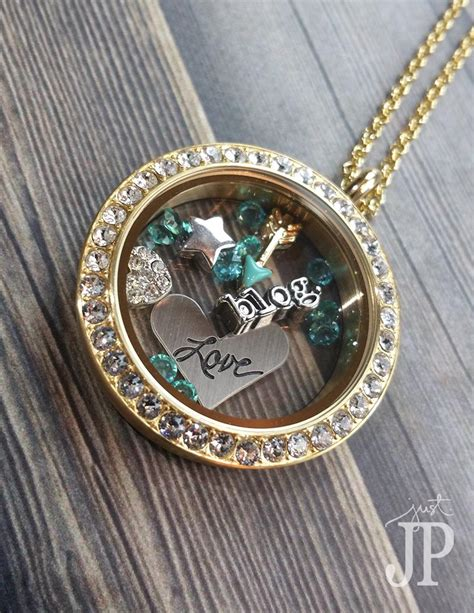 Origami Necklace Locket - graduation gifts for origami owl living locket