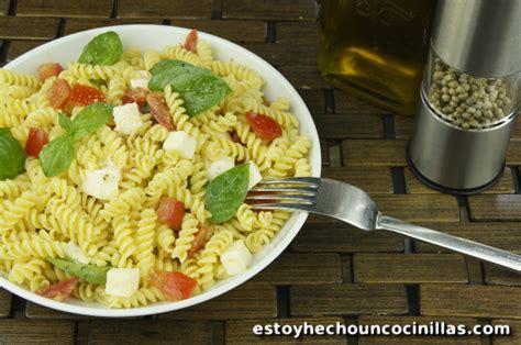 como se cocina la pasta receta de pasta alla checca mozzarella tomates y albahaca