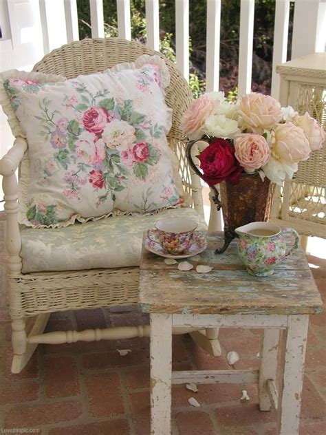 shabby chic porch buiten pinterest