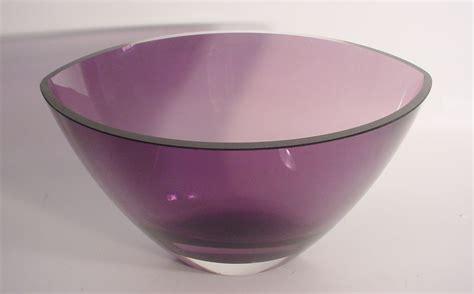 Purple Vases And Bowls Estate Purple Kosta Boda Contemporary Shape