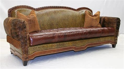 Western Leather Sofa Western Leather Sofa Plushemisphere