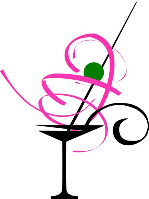 martini cartoon clip animated martini glass clipart best