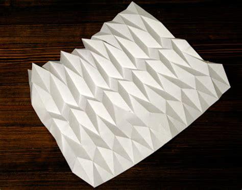 Paper Folding Pattern - mikey 3d paper folding