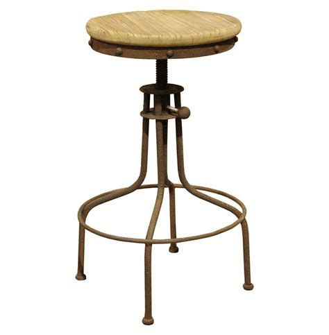 wood swivel stool clint industrial loft architects wood swivel bar counter
