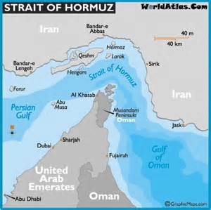 iran and the strait of hormuz where in bible prophecy