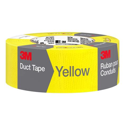 ductwork home depot 3m 1 88 in x 20 yds yellow duct 3920 yl the home