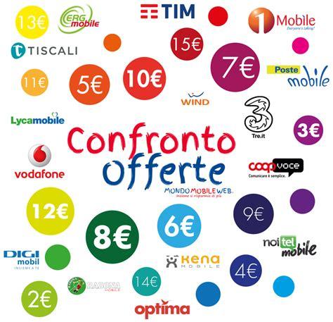 offerta mobile 3 telefonia mobile le offerte a 4 degli operatori di